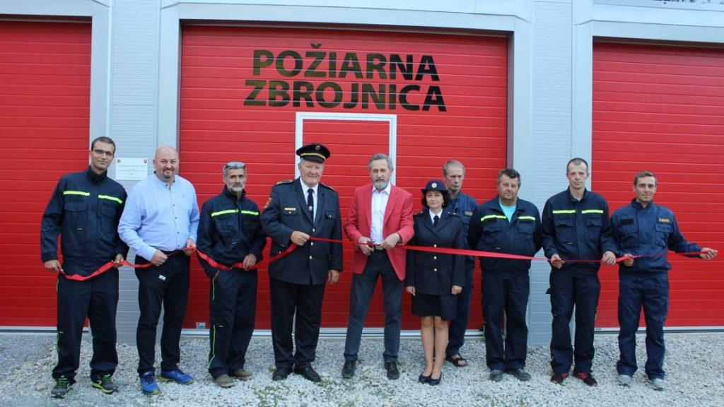 Fire station in Rudinka
